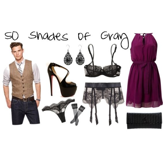 50 Shades of Gray DATENIGHT!   If I was Anastasia Steele and had a date with Christian Gray - this is what I would wear - the excitement would obviously be what is under the dress....