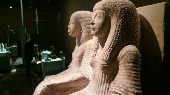 Neferhor y su esposa 1.500 años antes de Cristo.