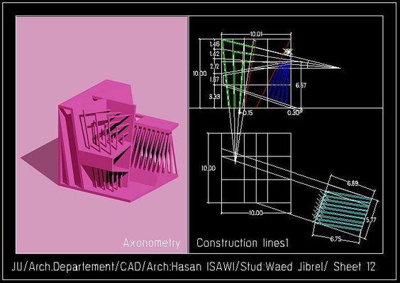 وعد جبريلالرسم المعماري بالحاسوب/ computer architectural drawing: