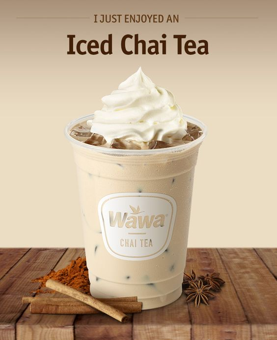 Wawa Hot & Iced Beverages: Iced Chai Tea Latte