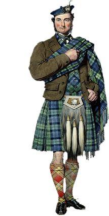 Ancient Highlander Dress