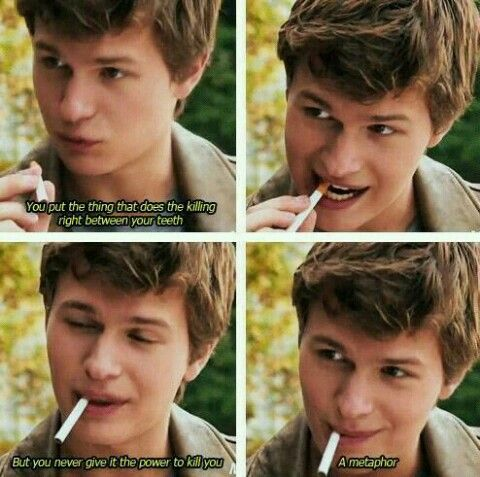 Augustus you are going to make me cry when The Fault in Our Stars will be out :'(