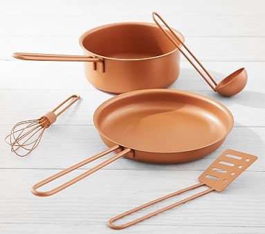 Copper Pots And Pans Set With Images Pots And Pans Sets Cooking Set Copper Cooking Pan