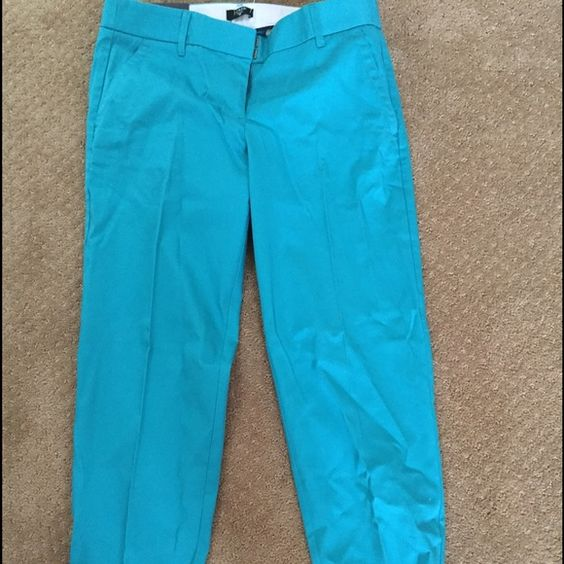 J Crew Pants In great condition. They need to be ironed but have never been worn. Smoke free home! J. Crew Pants