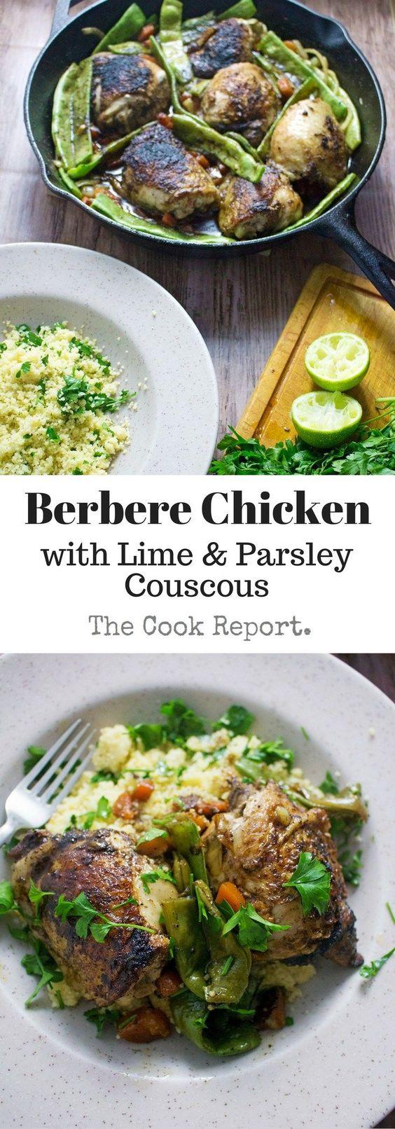 Berbere chicken recipes