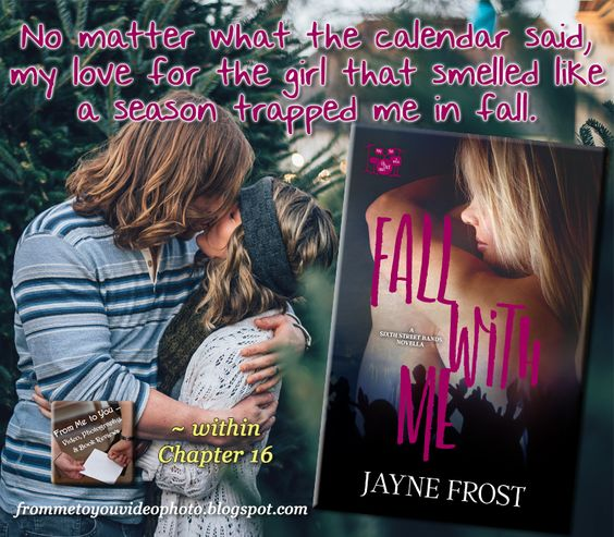 Fall With Me Book Teaser