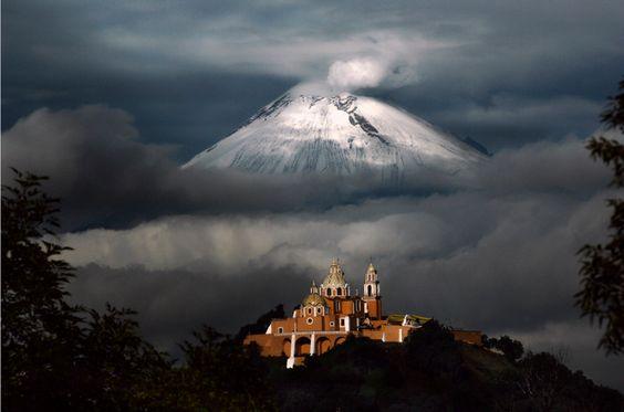 En Imágenes: 5 volcanes en 5 impresionantes fotos ~ Culturizando. Popocatepetl. Mexico