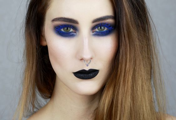 Bold in blue  @spindelsven is rocking in our Perfect Contour Kajal WP - 62 Tropical Blue and Build-up Mascara WP - 25 Ocean Blue  ‪#‎colorauthority‬