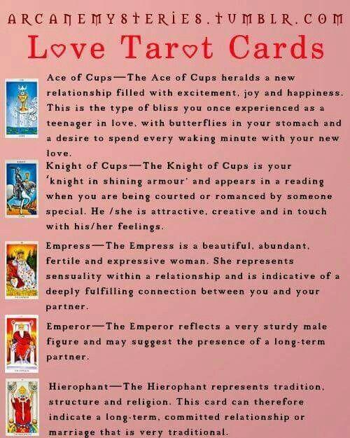 Love Tarot With Images Love Tarot Card Love Tarot Tarot Learning