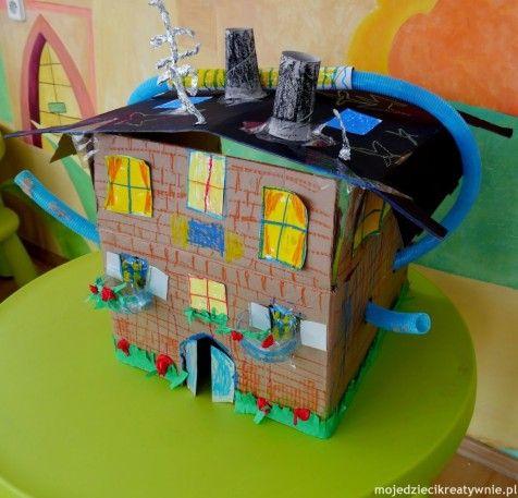 16 Swietnych Zabaw Z Kartonu Za 0 Zl Preschool Crafts Toddler Crafts Creative Kids