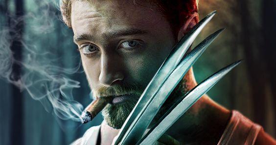 Daniel Radcliffe as Wolverine
