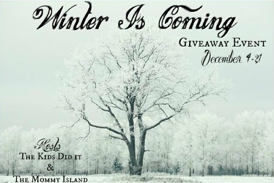 Winter Is Coming - #Giveaway Hop!