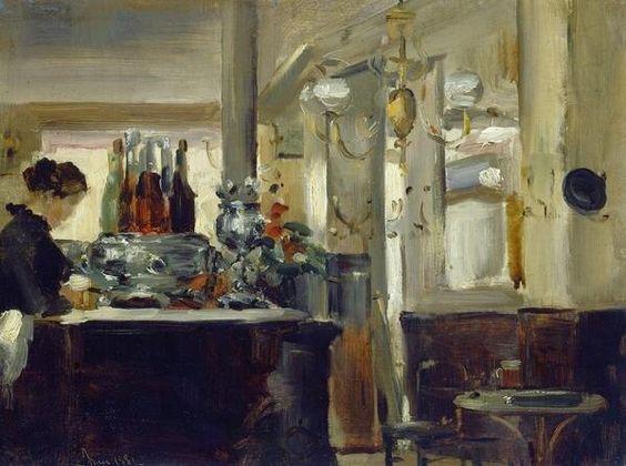 Edouard Manet「Bon Bock Café」(1881)