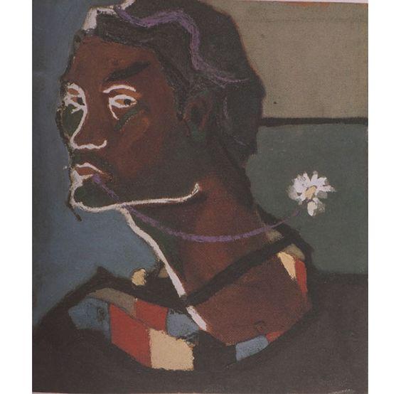 Pier Paolo Pasolini - Autoretrato con la vieja bufanda - Selfportrait with the old scarf. (1946)