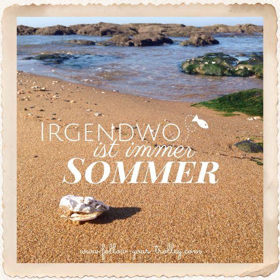 Spruch weisheit reisen irgendwo ist immer sommer urlaub pinterest - Spruch urlaub ...