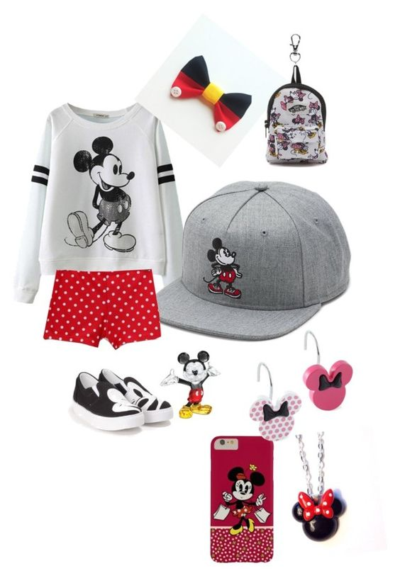 """""""Mickey Mouse"""" by sharkyswimgirl ❤ liked on Polyvore featuring Vans, Disney and Chiara Ferragni"""