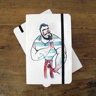 Sketch Book ilustrado por Lese Pierre #ftcshop