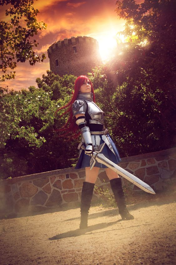 Erza Scarlet cosplay -- Fairy Tail (Heart kreuz v.3 armor) by SCARLET COSPLAY