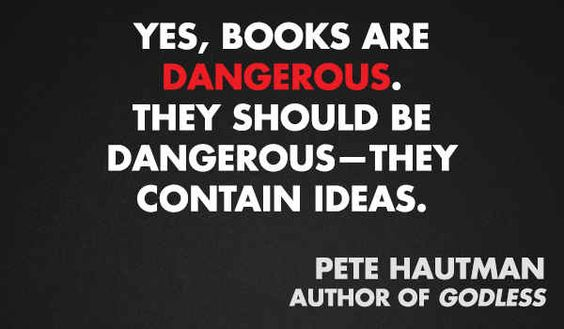 Pete Hautman | 11 Quotes From Authors On Censorship and Banned Books