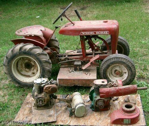 Wheel Horse Restoration Antique Tractors Garden Tractor