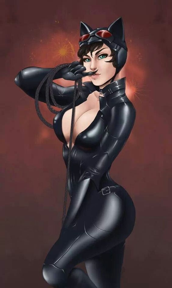 Another stupid cat woman