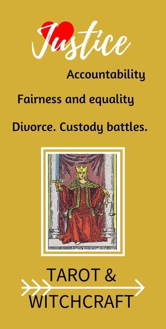 Justice Tarot Card Love Tarot Basics Tarot Witchcraft Justice Tarot Tarot Love Tarot