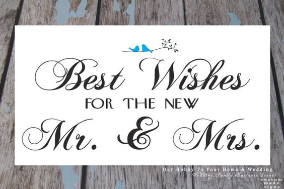 Best Wishes for the new Mr. & Mrs. DIY pdf printable by OurHobbyToYourHome