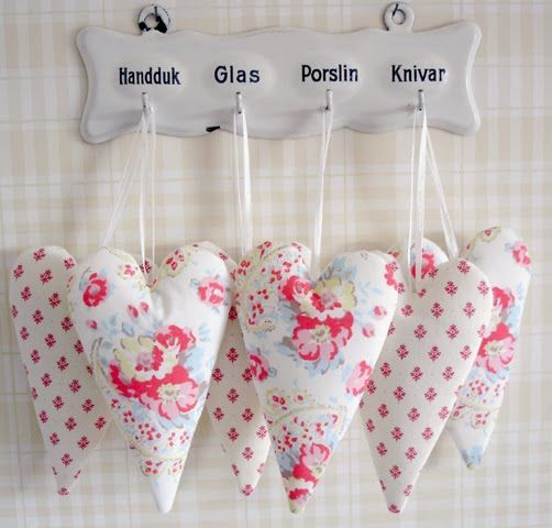 Valentine's Day handmade hearts