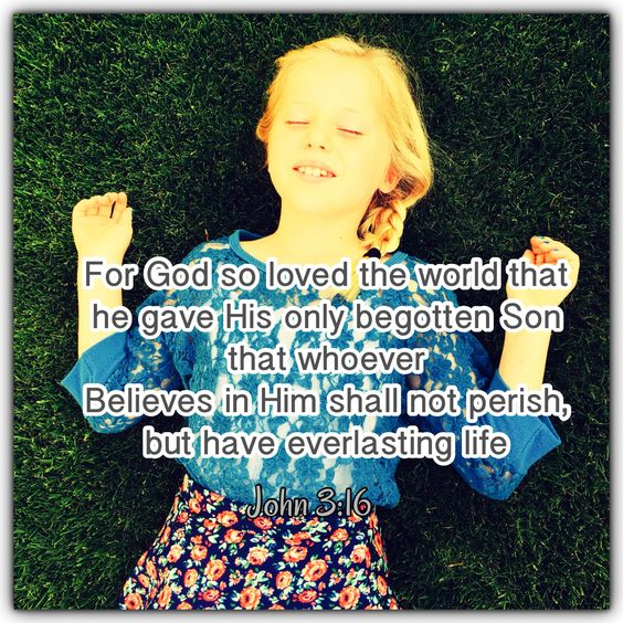 My Godly little girl