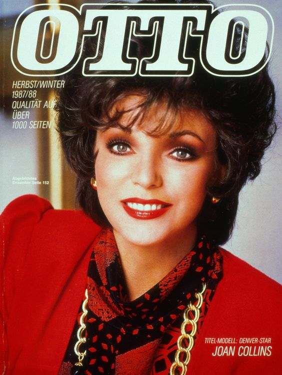 otto katalog herbst winter 1987 88 joan collins covers. Black Bedroom Furniture Sets. Home Design Ideas