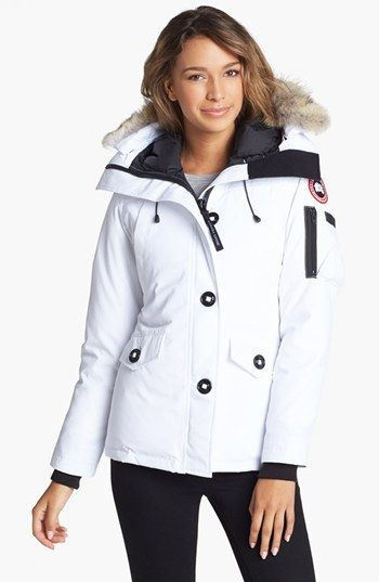 Canada Goose toronto outlet cheap - Women's Canada Goose 'Montebello' Slim Fit Down Parka with Genuine ...