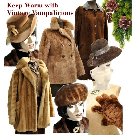 """Keep Warm with Winter Vampalicious"" by vintagevampalicious on Polyvore"