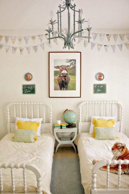 Gus and Lula's bright new space: Guest Room, Shared Kids Room, Shared Room, Girl Room, Kids Bedroom, Girls Bedroom, Kidsroom, Kids Rooms