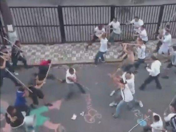 'Uma guerra na rua', relata moradora sobre briga entre torcidas rivais | Tô de Olho Em Você