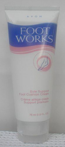 Avon Foot Works Sole Support Foot Cushion Cream by Avon. $6.99. Avon Foot Works Sole Support Foot Cushion Cream. One Avon Sole Support Foot Cushion Support Cream