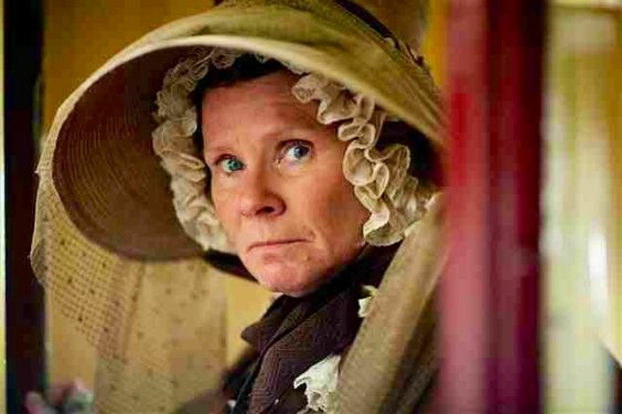 Ms. Pole - Cranford.  She is seriously like my favorite character.