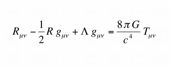 General relativity equation publish 1915.