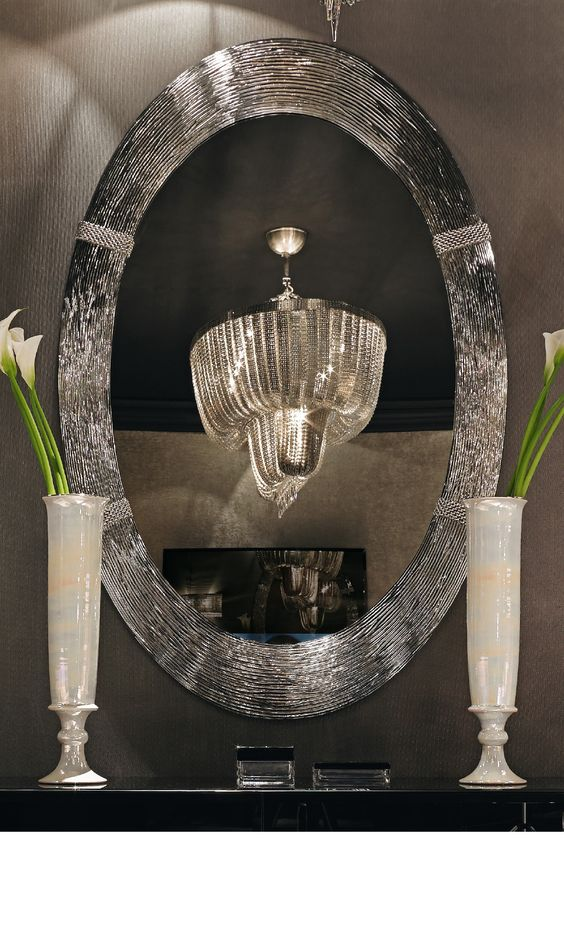 design living room design ideas beautiful chandelier silver mirror