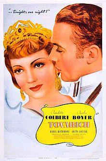 Tovarich 1938 poster.jpg