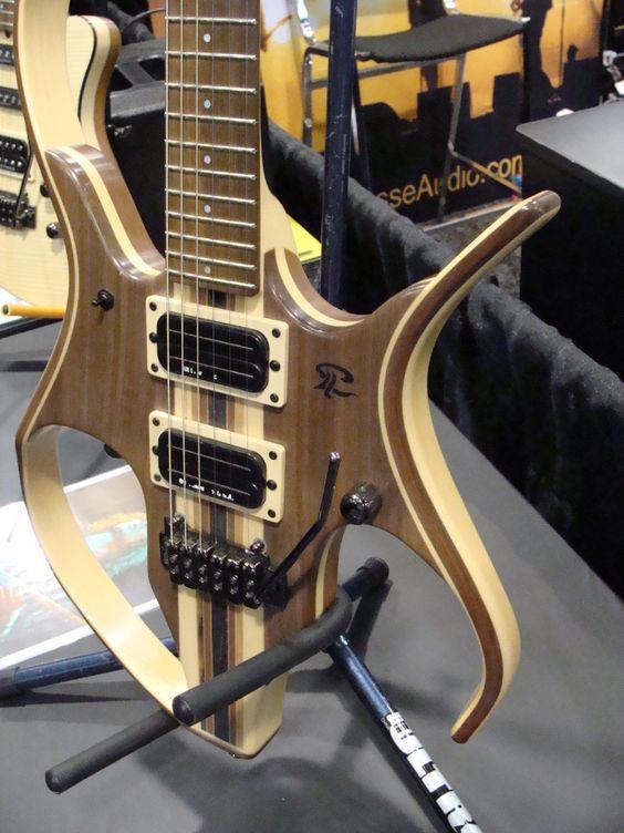 Paul Lairat's futuristic guitar design