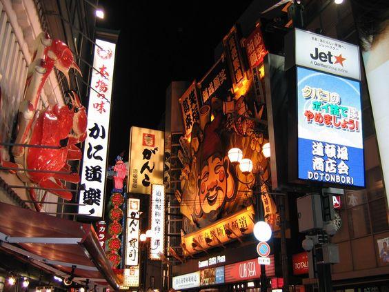 Dotonbori at Night; Osaka