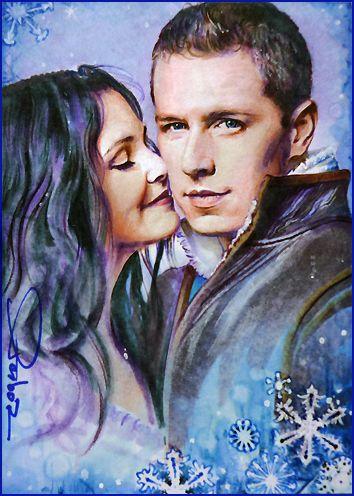 Snowhite Christmas by DavidDeb