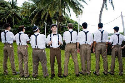 Carnival themed wedding; boys.