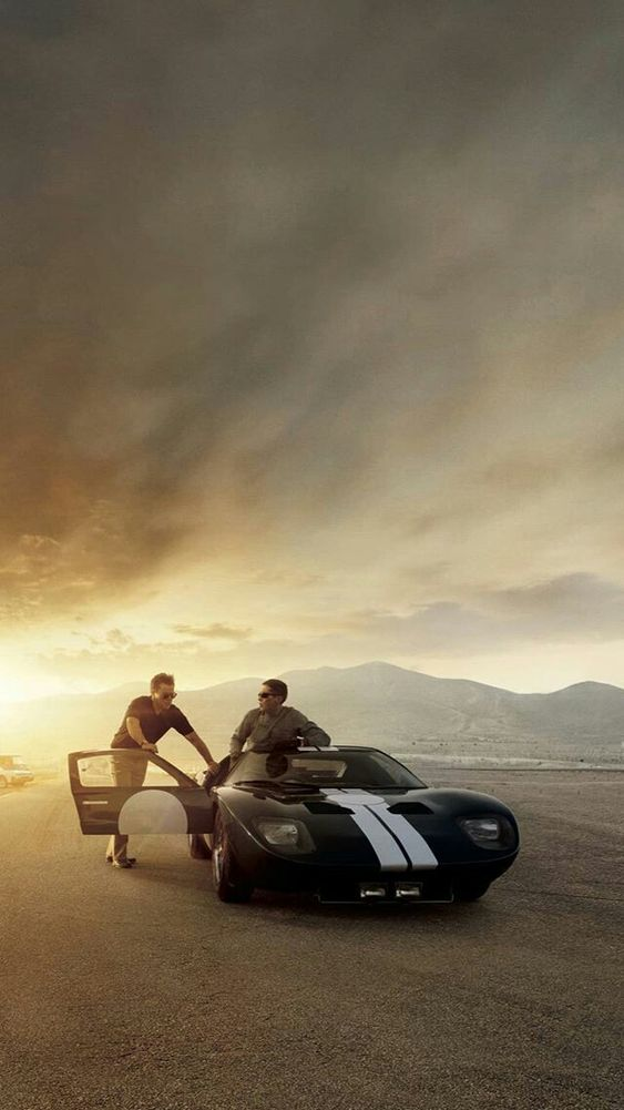Pin By Luciano Duarte On Seventh Art Ford V Ferrari Ford V Ferrari Wallpaper Ford V Ferrari Movie