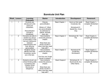 Bunnicula: A Rabbit Tale of Mystery worksheets, unit plan, and ...