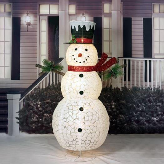 Christmas snowman yard decorations
