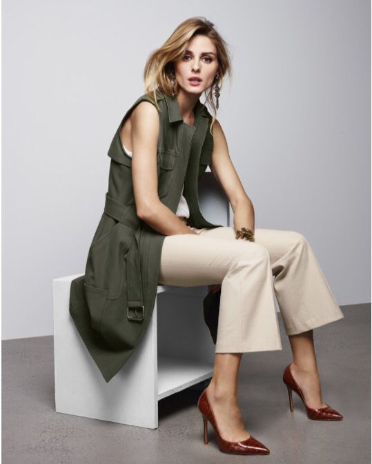 Olivia Palermo + Chelsea 28 for Nordstrom Lookbook - Military Vest