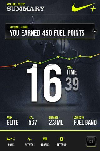 Meer.li - Nike Fuel+ App Concept by Brentley Broughton