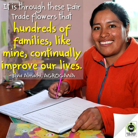 Elvia is all smiles while completing her homework for her adult high school course thanks to a program supported by #FairTrade Funds. Show your support for Elvia & learn how 7 other farms are investing in #education: http://fairtrd.us/VTfPdA #school #backtoschool: