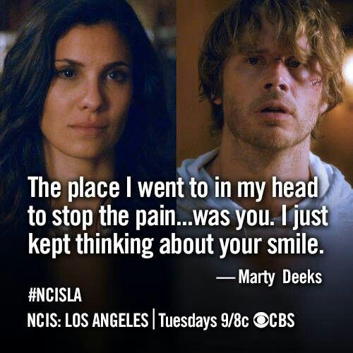 NCIS: Los Angeles.  Densi all the way